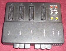 Scart Commutatore Segnale Controller 3 SCART Attiva/disattiva Uscite TV e
