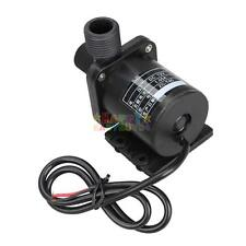 DC 12V Ultra Quiet Mini 4M 650L/H Brushless Motor Submersible Water Pump Black