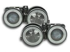Coppia Fari Fanali Anteriori Tuning Angel Eyes BMW serie 3  E30 2/4 porte 87-91