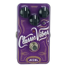 Guitar Effects Pedal Accel  Classic Vibes Uni-Vibe