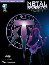 Metal Lead Guitar/Book and Cd (Vol. 1) by Stetina, Troy