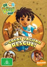 Go Diego Go! - The Great Jaguar Rescue! (DVD, 2008)