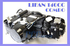 LIFAN 140CC ENGINE MOTOR 4 UP + OIL COOLER DIRT BIKE 107 125CC I EN22-COMBO