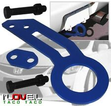 92-96 97-01 HONDA PRELUDE ACCORD JDM REAR TOW HOOK HAULING KIT ANODIZED BLUE