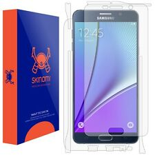 Skinomi FULL BODY (MATTE) Skin+Clear Screen Protector For Samsung Galaxy Note 5