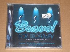 BRAVO! FOR BROADWAY (WEST SIDE STORY, TOP HAT) - CD SIGILLATO (SEALED)