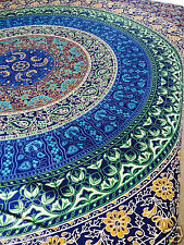 QUEEN Hippie Arazzo Indiano Mandala Copriletto Appeso a Parete Gypsy COPRILETTO Decor UK