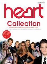 Heart Collection Pop Piano Voice Guitar Learn to Play SONGS FABER Music BOOK