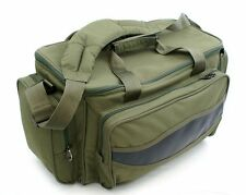 Brand New Large Carp Fishing Green Padded Carryall Holdall Tackle Bag Insulated