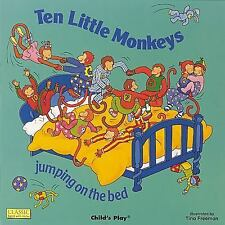 Classic Books with Holes 8x8: Ten Little Monkeys Jumping on the Bed (2003,...
