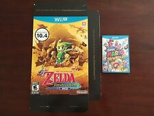 The Legend of Zelda Wii U Wind Waker Game Promotional Promo Display Box Only!