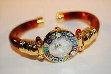 Montre-bracelet Tortue AMBRE avec MURRINA verre de MURANO Original