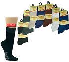6 Paar Bambus Gesundheits-Socken Damen u. Herren, normal lang, Größen 35 - 49