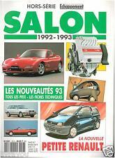 ▬►ECHAPPEMENT SPECIAL SALON AUTO 1992/1993 AUDI_BMW_PEUGEO_CITROËN .............