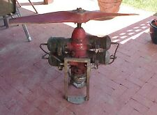 nlVINTAGE WWII ERA MCCULLOCH 2 CYCLE DRONE ENGINE WITH PROP MILITARY GYROCOPTER