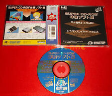 DEMO DISC TENGAI MAKYO 2 DRAGON SLAYER Pc Engine SUPER CdRom² Japan USATO DO