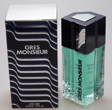 Grès Monsieur by Gres 100 ml After Shave Splash Neu / OVP * vintage *