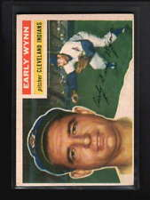 1956 TOPPS #187 EARLY WYNN EX D5743