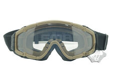 FMA Cooler Fan Version DE Outdoor Paintball Airsoft Glasses SI-Ballistic Goggle