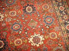 Antique Decorative All Over Persian Mahal Sultanabad Rug Size 8'10''x12'