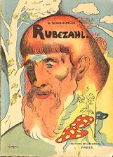G Bourdoncle . RUBEZAHL suivi de LA FEE ONDINE . Edition de l' Ecureuil .