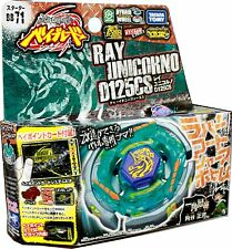 NEW TAKARA TOMY BEYBLADE METAL FUSION BB-71 Ray Striker Unicorno D125CS+LAUNCHER