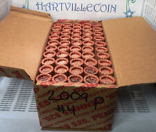"""1- $25 Boxes - 2009-P Lincoln Cent """"Presidency"""" (LP4)  - 50 Rolls"""
