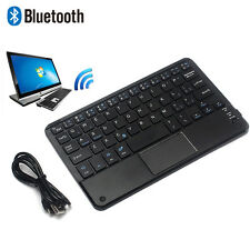 Mini Bluetooth Funk Tastatur Keypads Für All 7-10 inch Android Windows Tablet