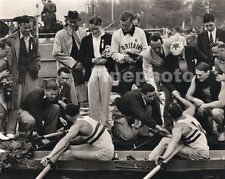 1936 Vintage 11x14 Germany OLYMPICS England BERESFORD Sculling Rowing PAUL WOLFF