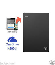 Seagate 2 TB Backup Plus Slim Portable External Hard Drive USB 3.0 (BLACK)