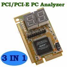 PCI PCI-E LPC PC Laptop Analyzer Motherboard Diagnostic Test Tester Post Card UK