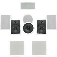 Theater Solutions TSCST87 In-Wall/Ceiling 1700W Home Theater 7.2 Speaker System