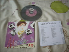 a941981 Maria Cordero Best Paper Back CD with a limited edition number ( Number 388 ) 新歌風雲集