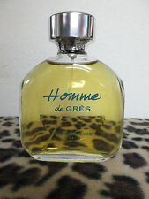 HOMME DE GRES 4.2OZ PERFUME FOR MEN DISCONTINUED TESTER NEVER BEEN USED WITH CAP