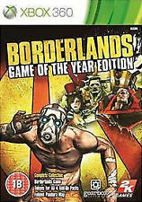 Borderlands Game of the Year Edition Xbox 360 PAL Reino Unido ** ** GRATIS UK FRANQUEO