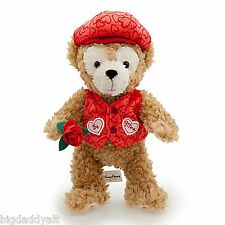 NEW Disney World Parks Duffy Bear BE MINE VALENTINE Mickey Mouse Plush
