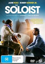 THE SOLOIST * NEW SEALED  REGION 2, 4 & 5 DVD * JAMIE FOXX, ROBERT DOWNEY JR.