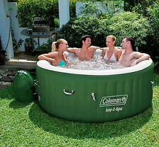 "Coleman Lay-Z-Spa 77"" x 28"" Inflatable Spa Portable 4-Person Hot Tub"