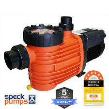 Speck Pro 500 DS Dual Speed, 0.75/2.0HP 0.3/1.5kW Energy Efficient Pool Pump 5Y