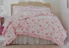 Simply Shabby Chic Pink Peony Comforter + Shams Set ~ NEW Full/Queen