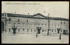 cartolina CASTEL S.PIETRO palazzo comunale