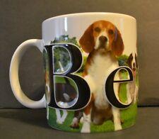 Beagle Dog Coffee Mug AmericaWare 2013 Large Size 3D Lettering EUC