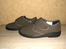 Therapy Velcro shoe Munich III by Promed in brown & Stretch new Size 39