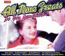 ALL TIME GREATS ~ 2CD * BOBBY VINTON,ALBERT HAMMOND,LIZA MINNELLI,PATTI PAGE ETC