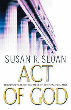 Act of God by Susan R. Sloan (Hardback, 2002)