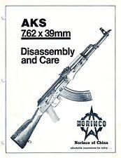 Norinco AKS (AK-47) Rifle Manual 7.62x39 on Cd