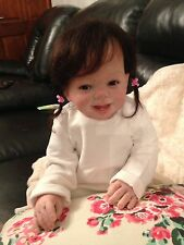 REBORN BABY Tabitha from Donna Rubert's Ladybug 6-9 month baby
