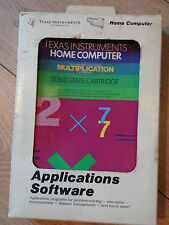 Texas Instruments Home Computer Multiplication Software Cartridge