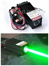 60mW 532nm Green Laser Dot Module w/TTL 12V Thick Beam Stage Lighting w/ Fan