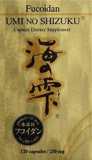Umi No Shizuku Fucoidan (120 Veggie Capsules)